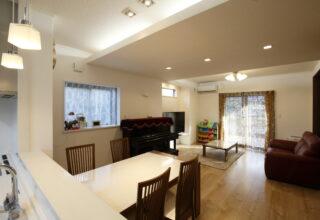 ゼロエネ住宅で快適性と広さを両立。のびのび子育てができる住まいに。
